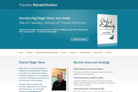 Trauma Rehabilitation website